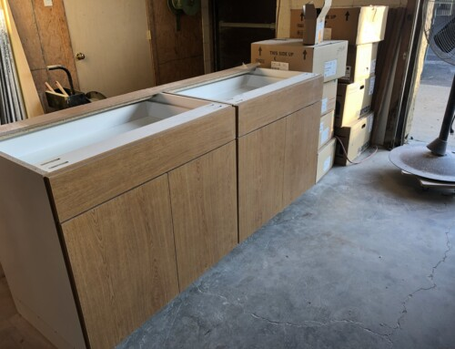 Custom Cabinets for Maple Point Middle School
